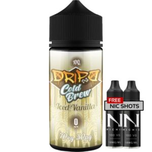 Dripd Cold Brew – Iced Vanilla E-liquid