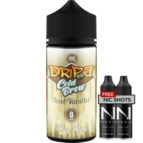 Dripd Cold Brew – Iced Vanilla E-liquid