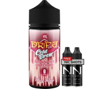 Dripd Cold Brew – Strawberries & Cream E-liquid