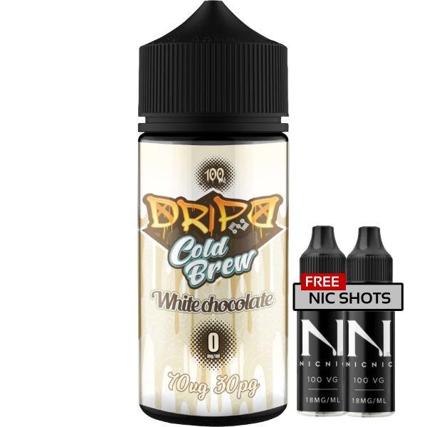 Dripd Cold Brew – White Chocolate E-liquid