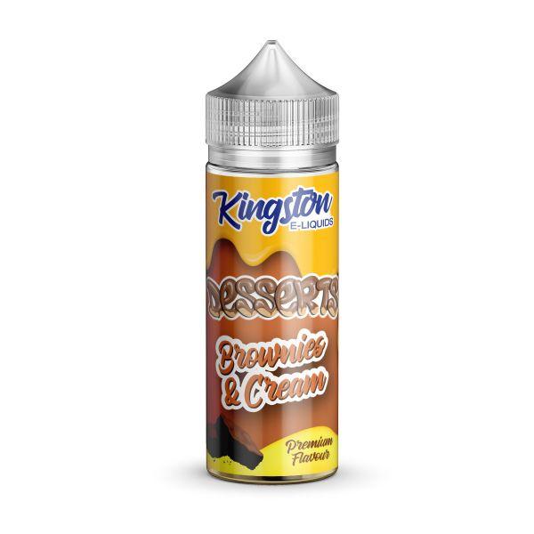Kingston Desserts – Brownies & Cream