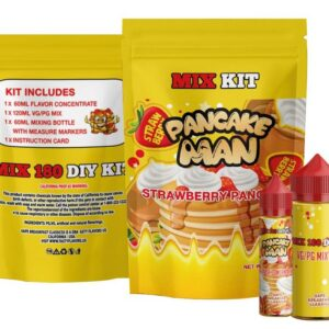 Vape Breakfast Classics – Pancake Man 180ml DIY Mix Kit