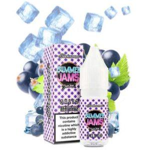 Just Jam Summer Jam – Blackcurrant 10ml Nic Salt