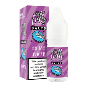 No Frills Salt – Bottle Pops – Vimto