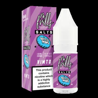 No Frills Salt – Bottle Pops – Vimto