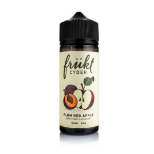 Frukt Cyder – Plum Red Apple E-liquid – 100ml