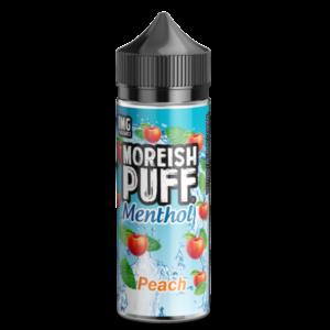Peach – Moreish Puff MENTHOL