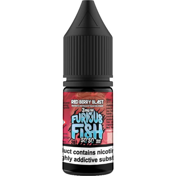 Furious Fish 50-50 – Red Berry Blast
