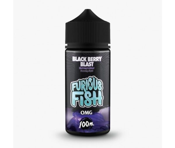 Furious Fish Shortfill – Black Berry Blast E-liquid