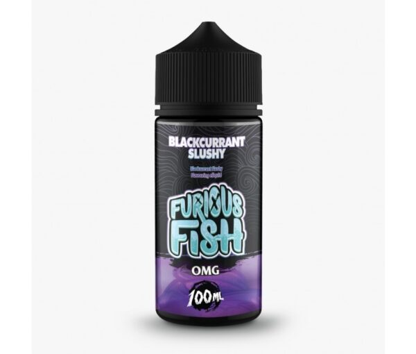 Furious Fish Shortfill – Blackcurrant Slushy E-liquid