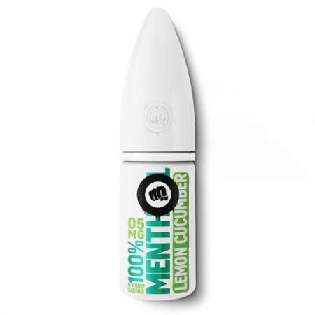 Riot Squad Salts – Menthol Lemon & Cucumber