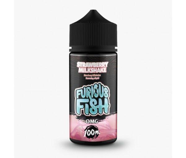Furious Fish Shortfill – Strawberry Milkshake E-liquid