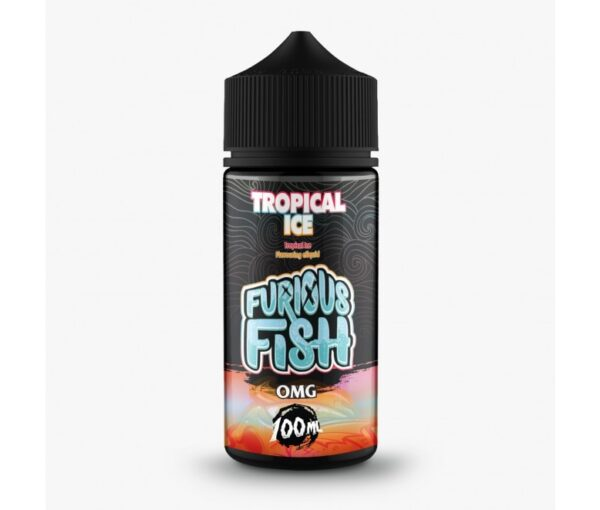 Furious Fish Shortfill – Tropical Ice E-liquid