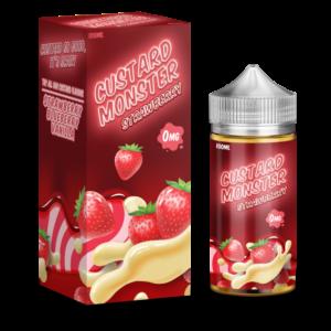 Custard Monster Strawberry Custard