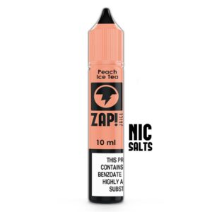 ZAP! NIC SALT PEACH ICE TEA E LIQUID
