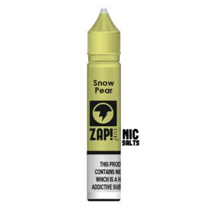 ZAP! NIC SALT SNOW PEAR E LIQUID