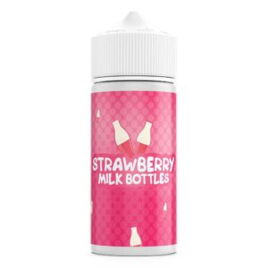 Strawberry Milk Bottles