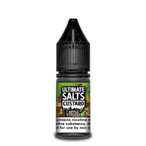Ultimate Salts E Liquid Custard – Apple strudel