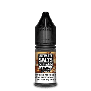 Ultimate Salts E Liquid Custard – Boston Cream