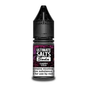 Ultimate Salts E Liquid Soda – Cherry Cola