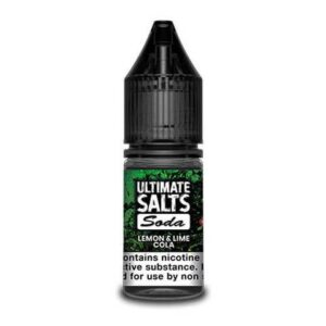 Ultimate Salts E Liquid Soda – Lemon & Lime Cola