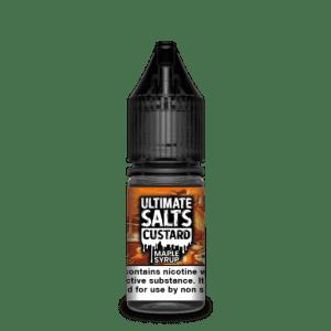 Ultimate Salts E Liquid Custard – Maple Syrup