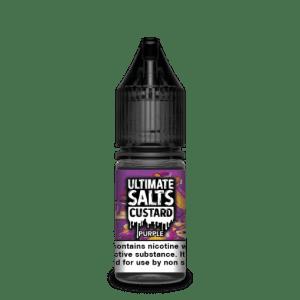 Ultimate Salts E Liquid Custard – Purple