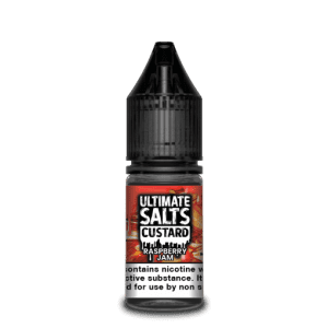 Ultimate Salts E Liquid Custard – Raspberry jam
