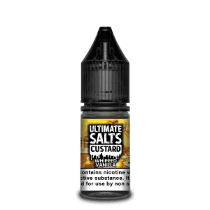 Ultimate Salts E Liquid Custard – Whipped Vanilla