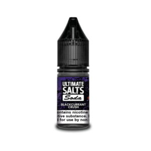 Ultimate Salts E Liquid Soda – Blackcurrant Crush