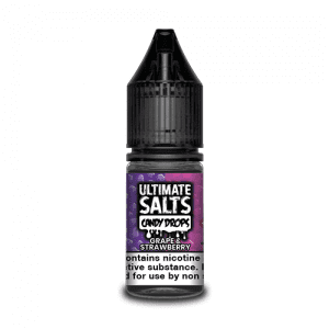 Ultimate Salts E Liquid Candy Drops – Grape and Strawberry