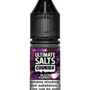 Ultimate Salts E Liquid Cookie – Black Forrest