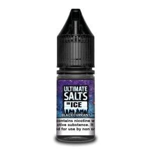 Ultimate Salts E Liquid On Ice – Blackcurrant