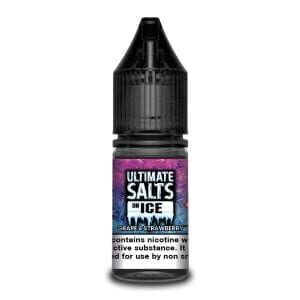Ultimate Salts E Liquid On Ice – Grape And Strawberry