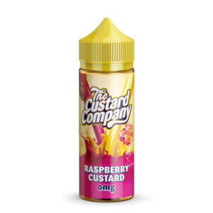 Raspberry Custard E-Liquid by The Custard Company 100ml