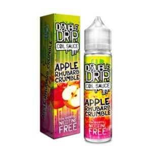 Double Drip – Apple Rhubarb Crumble