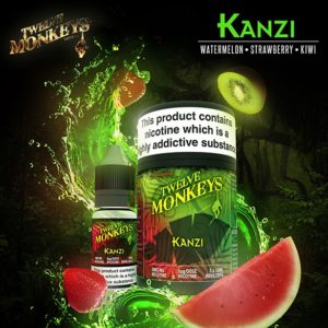 12 Monkeys - Kanzi E-liquid 3 X 10ML