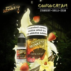 12 Monkeys - Congo Cream E-liquid 3 x 10ml