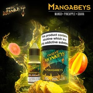 12 Monkeys - Mangabeys E-liquid 3 X 10ML