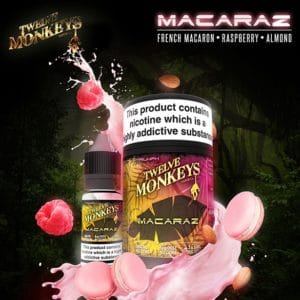 12 Monkeys - Macaraz E-liquid 3 X 10ML