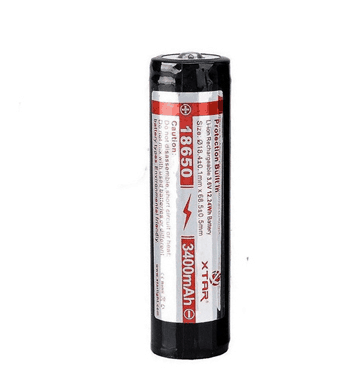 Xtar 18650 3400mAh Protected Battery