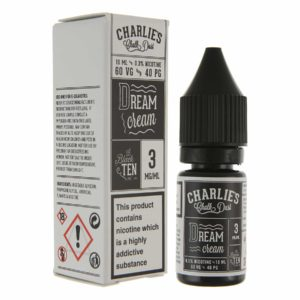 Charlies Chalk Dust - Dream Cream E-liquid