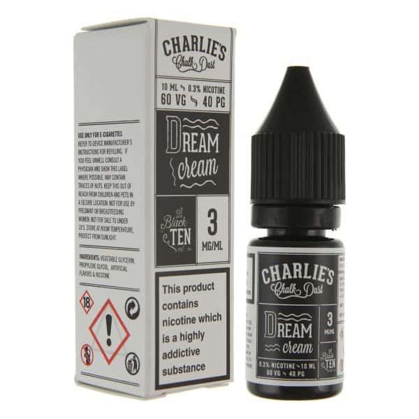 Charlies Chalk Dust - Dream Cream E-liquid