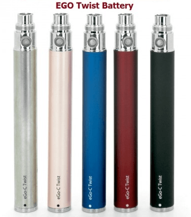 Ego C Twist 1100 mah Variable Voltage Battery 2