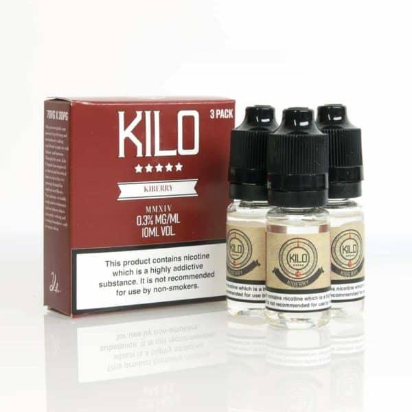 Kilo Kiberry Yogurt E-liquid 3 X 10ML