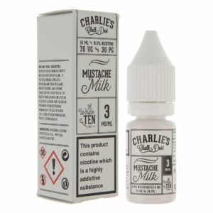 Charlies Chalk Dust - Mustache Milk E-liquid