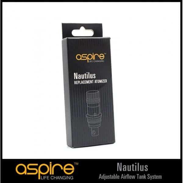 Aspire Nautilus BVC Atomizer Head Coils 5 pack 1
