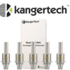 Authentic 5 Pack Kanger Dual Coil Heads Version 2 3