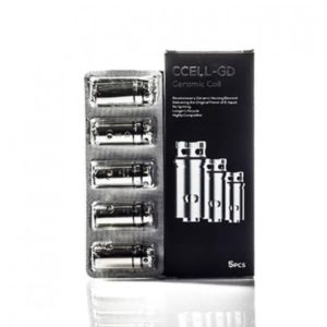 VAPORESSO CCELL-GD CERAMIC COIL (5 PACK)