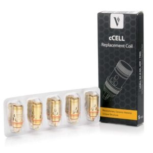 VAPORESSO CCELL SS REPLACEMENT COILS - 0.5 OHM (5 PACK)